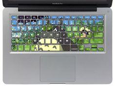 Great Keyboard 21  Macbook Keyboard Decal Macbook by CoolStickers, $11.90