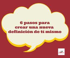 Sigue el Blog Go&Flow  http://www.goandflow.es/6-pasos-para-crear-una-nueva-definicion-de-ti-mismo/ Mas? El libro Del Amor a la Zeta http://www.goandflow.es/#home-2