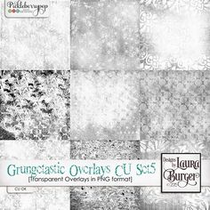 Grungetastic Overlays CU Set 5