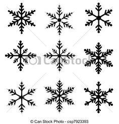 résultats de recherche d images pour dessin flocon neige