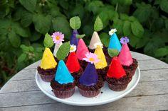 Pikmin cupcakes!