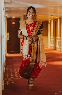 Marathi Nath, Indian Natural Beauty, Marathi Wedding, Nauvari Saree, Ileana D'cruz, Dress Suits, Dresses, India Beauty, Indian Sarees