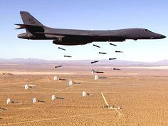 B-1B Lancer Unloading