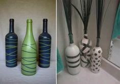 3 ideias para decorar com garrafas antigas - Vinicius de Mello - Designer de Interiores - Decoração para todos