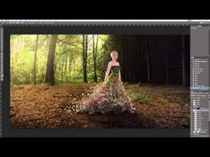 5 Tips and Tricks For Creating A Gown From Flowers - DIY Photography