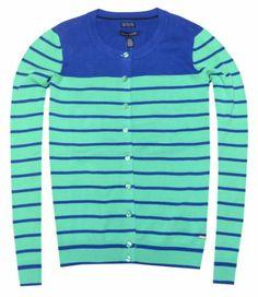 Tommy Hilfiger Women Crew Neck Striped Logo Cardigan (XS, Blue/green) Tommy Hilfiger,http://www.amazon.com/dp/B00IJIPLMC/ref=cm_sw_r_pi_dp_vW5ctb0BMGY8YATX