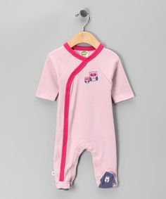 Take a look at this Pink Owl Organic Wrap Footie - Infant by Parade Organics on #zulily today!