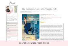Dinah - Responsive WordPress Theme by The Lovely Design Co. on @creativemarket