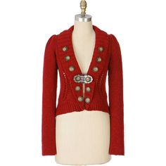 Parade Route Cardigan ❤ liked on Polyvore