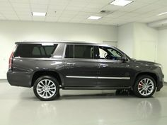 New 2018 Cadillac Escalade ESV Platinum for sale in Henderson, NV Sport Utility Details - 478879521 - Autotrader Cadilac Escalade, Escalade Esv, Chevy, Chevrolet, Henderson Nv, Mission Viejo, Car Goals, My Ride, 2000s