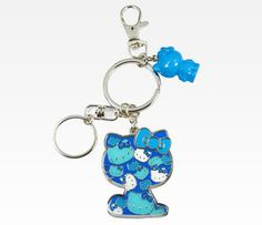1dec8d586 HK  ❣  HELLO KITTY Colors Key Ring in Blue Hello Kitty Coloring, Sanrio