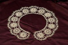 Ravelry: Daisy and Rose Irish Lace Collar pattern by Megan Mills