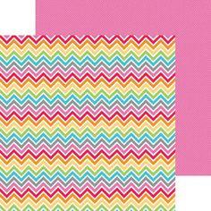 Color Waves Paper - Take Note - Doodlebug