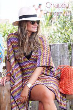 Thassia Naves - multicolored bikini coverup