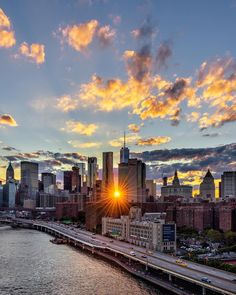 New Yorks sunburst by @papakila by newyorkcityfeelings.com - The Best Photos and Videos of New York City including the Statue of Liberty Brooklyn Bridge Central Park Empire State Building Chrysler Building and other popular New York places and attractions.