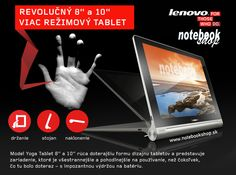 Lenovo IdeaPad Yoga Tablet 8 a 10 Yoga