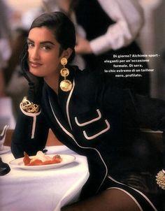 Yasmeen Ghauri 90s