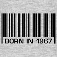 nacido en 1967 50 cumpleaños del código de barras 50 cumpleaños - Camiseta hombre