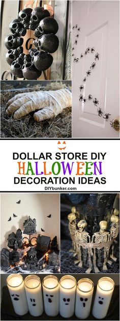 44857a6e7827 16 Dollar Store Halloween Decor DIY Ideas That Look Expensive