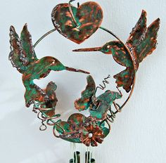 Love this one which includes a fav bird of my, the humming bird