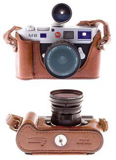 Leica M8 dressed by Luigi
