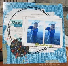 2013 Artisan Contest Entry - scrapbook 3 Cam | Jane Lee http://janeleescards.blogspot.com