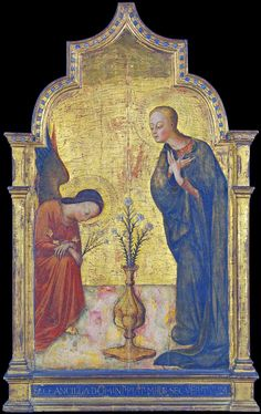https://flic.kr/p/atEnyv | Sassetta - Annunciation (1450 Siena) | Sassetta - Annunciation (1450 Siena) New York Metropolitan Museum of Art