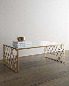 Carlene Coffee Table by INTERLUDE at Horchow.