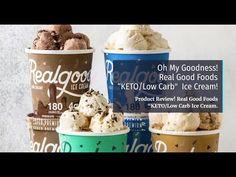 Ice Cream Ingredients, Ice Cream Flavors, Baking Ingredients, Low Carb Ice Cream, Best Ice Cream, Nutritious Snacks, Keto Snacks, Mint Chocolate Chips, Chocolate Peanut Butter
