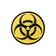 Biohazard patch Embroidered Movie Iron On Patches sew on patches Punk patches
