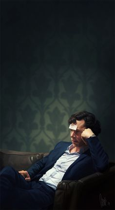 Brooding... (The Consulting Detective by tillieke)