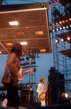 John Entwistle Pete Townshend The Who 1972 Paris