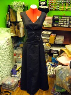I probably should not be taking on any more projects at this time, but that's what I do so, I'm making a new costume. The library I work at...