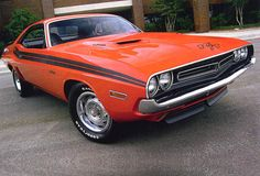 1971 Dodge Challenger R/T -- The redesign isn't bad, but nothing beats the original.