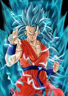Goku ssj3 blue Super Saiyan Blue 3, Super Goku, Dragon Ball Z, 7th Dragon, Goku Blue, Majin Boo, Super Images, Epic Characters, Animated Dragon