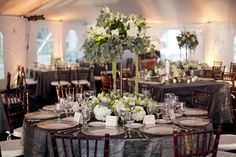 Silver-and-White-Wedding-Tablescape