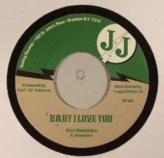 The artwork for the vinyl release of: Carl Dawkins   Val Bennett   Jj All Stars - Baby I Love You (Sir JJ/Reggae Fever) #music Dub
