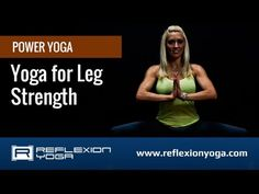 ▶ Yoga Classes - Yoga for Leg Strength. Start toning your legs with online yoga! - YouTube