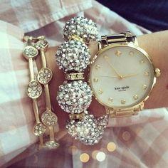 Baubles bracelets kate spade watch