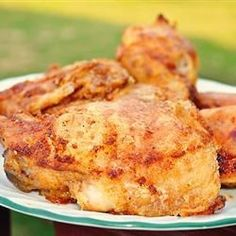 Easy Shake and Bake Chicken | No need to choose store-bought when you can easily make your own blend of flour and seasonings to 'shake and bake' your chicken.
