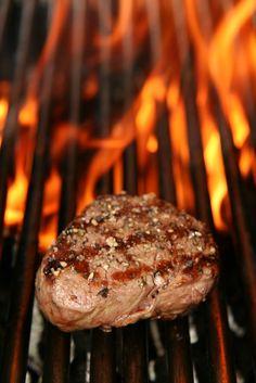 barbecued steak