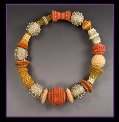 fantastic decorations in the art of macrame with beads - crafts ideas - crafts for kids