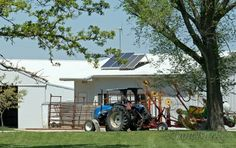 solar-panels-garnett-ks - …and another place had solar panels and a modern windmill.