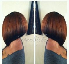 Sharp Bob Haircut - Short Hairstyles for Black Women