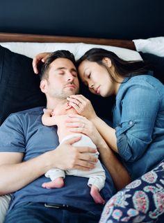 Modern newborn photos by Erin Hearts Court | 100 Layer Cakelet
