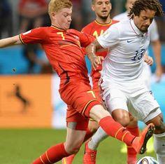 Estados Unidos pierde 2 a 1 ante Bélgica y es eliminado de la copa del mundo 2014