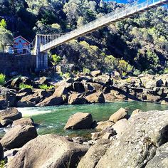 Walk Through The Cataract Gorge at the Centre of the City of Launceston