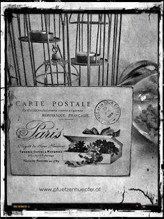 carte postale update Annie Sloan, Chalk Paint, Shabby Chic, Shots, Vintage, Diy, Repurpose, World, Bricolage