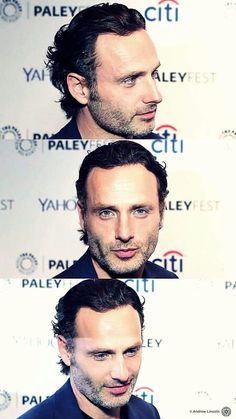 Andrew Lincoln incredibly beautiful <3
