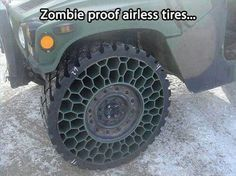 Not the only gear you'll need. Zombie Apocalypse Survival gear sweepstakes!                                                                                                                                                     More